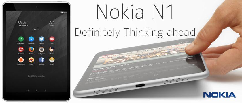 Nokia N1 : iPad Mini clone that runs Android 5.0 ...