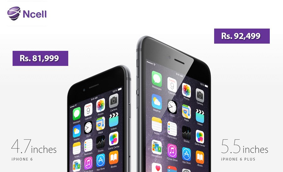 iphone 6 price in nepal ncell price. Black Bedroom Furniture Sets. Home Design Ideas