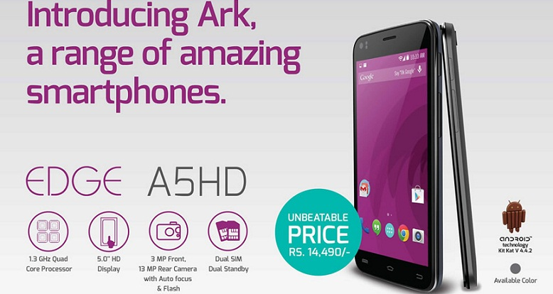 Ark Smartphones now in Nepal ark a5hd