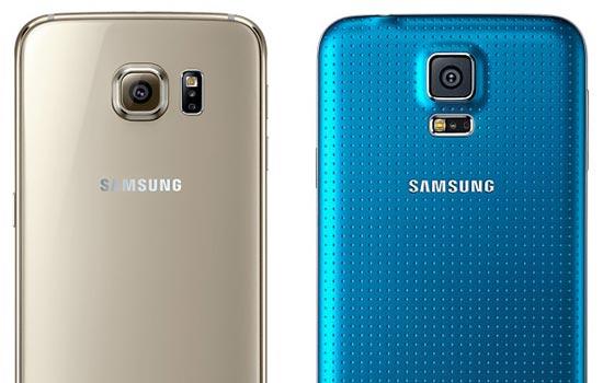 Galaxy s6 vs Galaxy s5