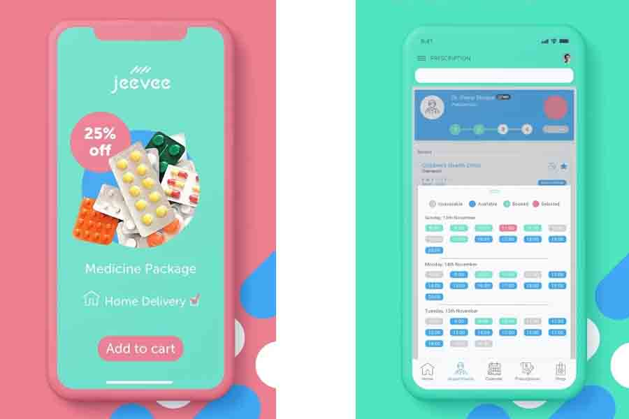 Jeevee app online medical nepali medicine pharmacy top muist have nepali apps list doctor appointment consultation