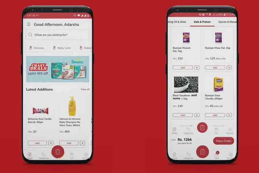 Kirana app online groceries shopping nepal top best must have apps nepal