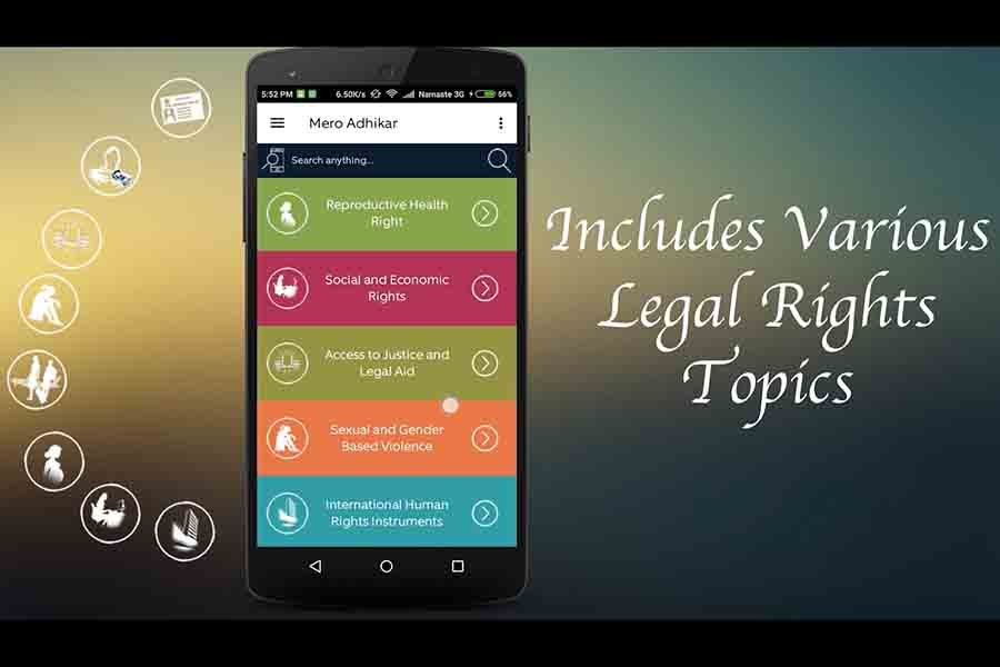 Mero Adhikar app best nepali apps must have law human right citizen apps nepal