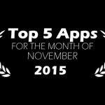 Top 5 Android Apps for the month of November