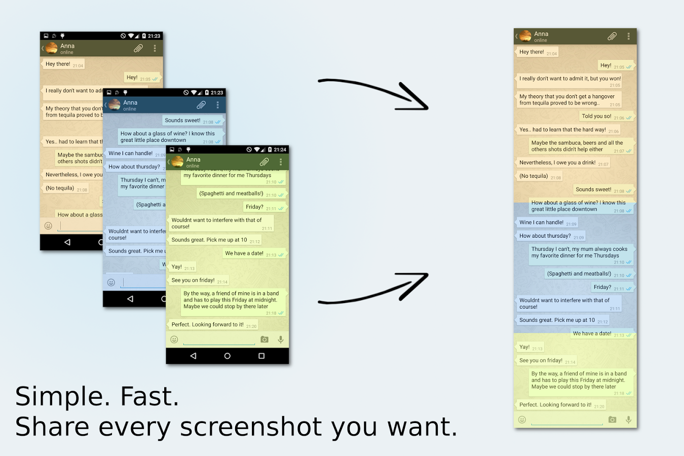 Top 5 Android Apps- Stitch and Share