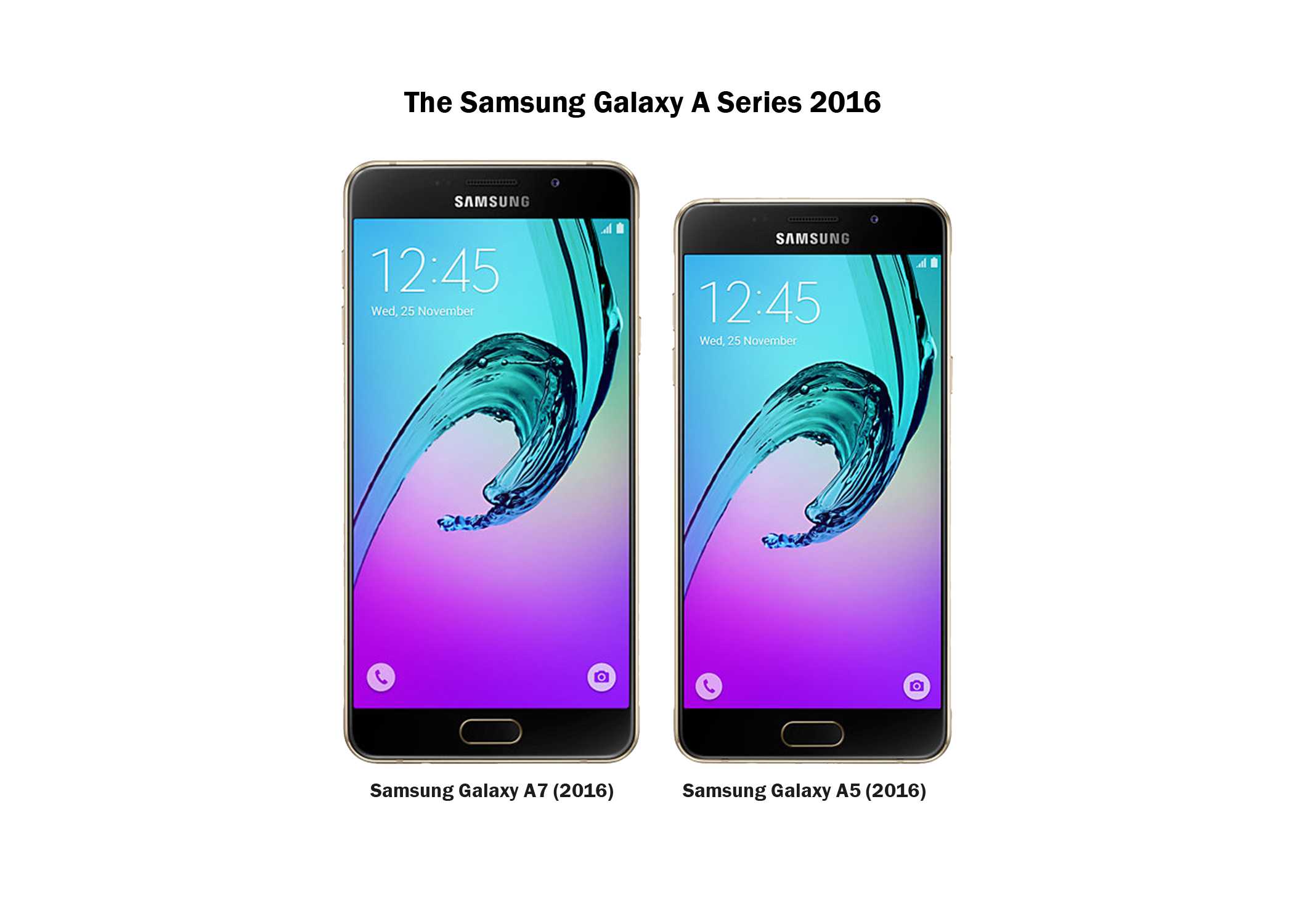 samsung galaxy a5 galaxy a7 2016 launched in nepal gadgetbyte. Black Bedroom Furniture Sets. Home Design Ideas