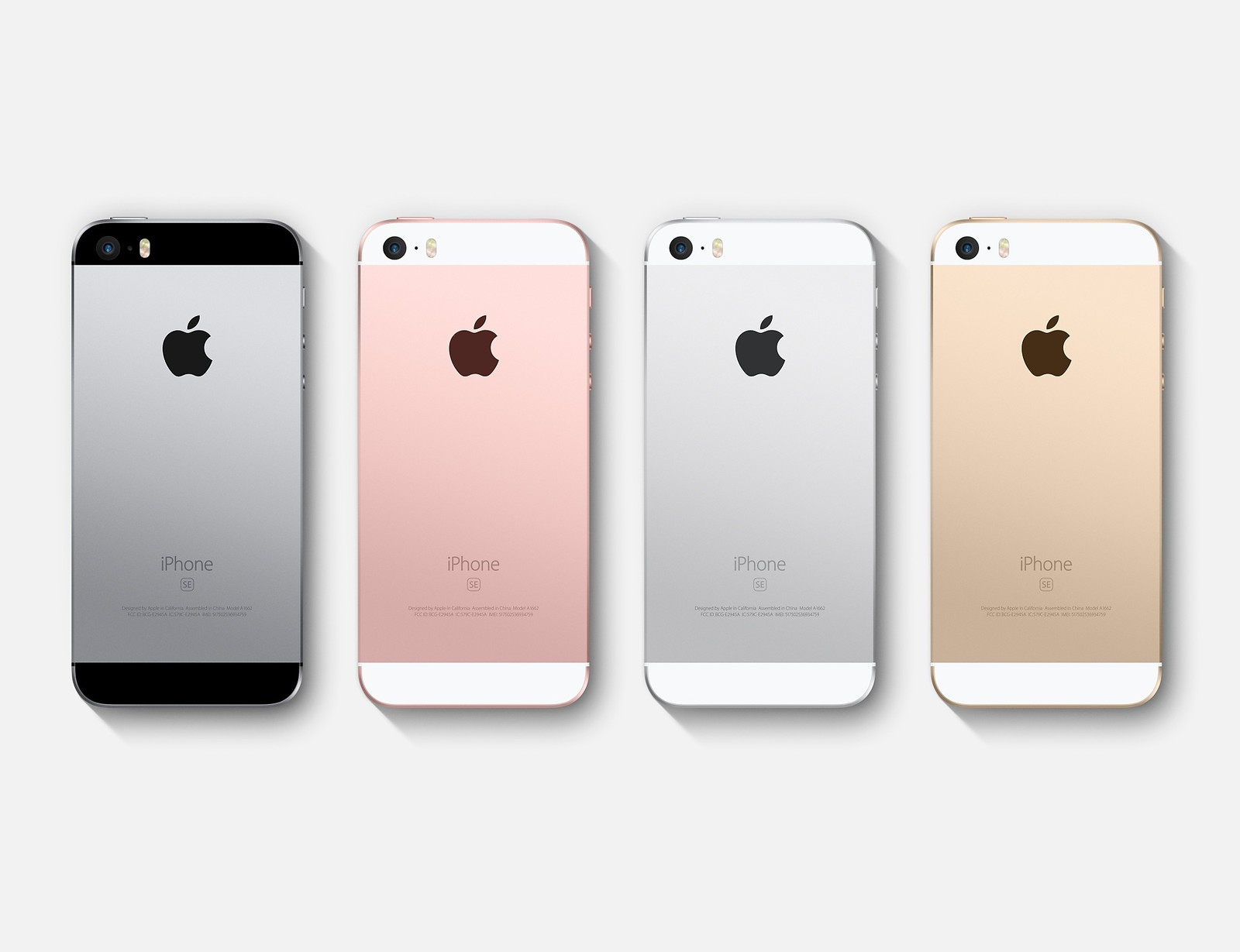 iPhone SE Price in Nepal will be approx 55K - 60K available in 4 color options: Silver, gold, space gray, and rose gold.