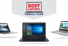 Top 3 laptops under 70,000 in Nepal