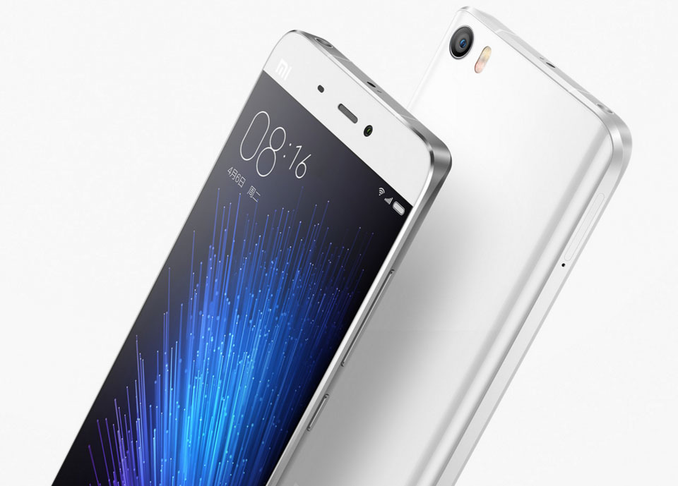 Xiaomi Mi5 is only available in White Color options as of now.