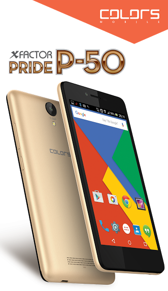 colors pride p50 smartphone
