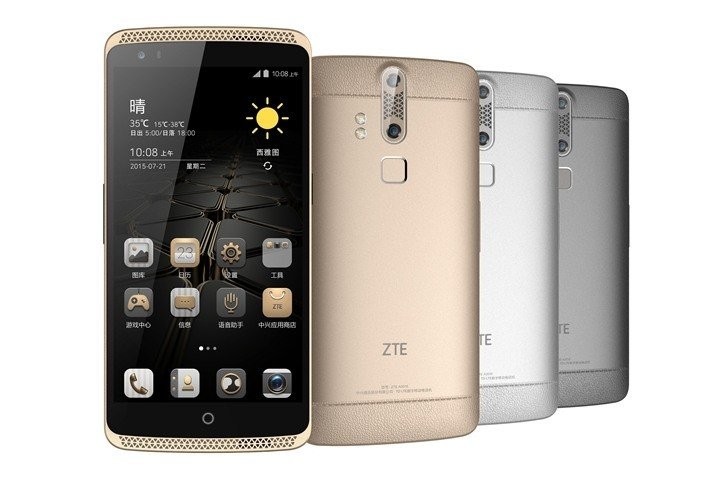 zte axon 7 mini gorilla glass On: