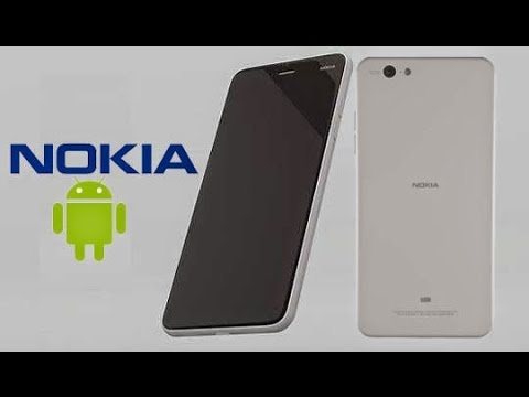 New Nokia phone's rumored design.
