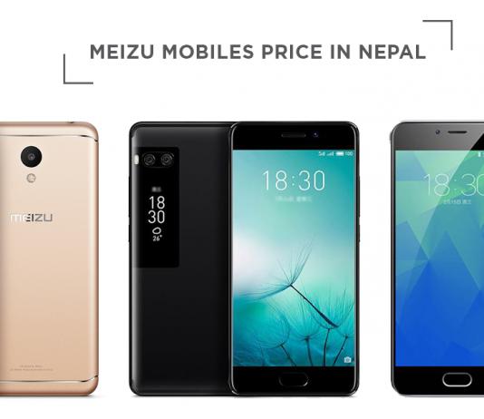 meizu mobiles price in nepal
