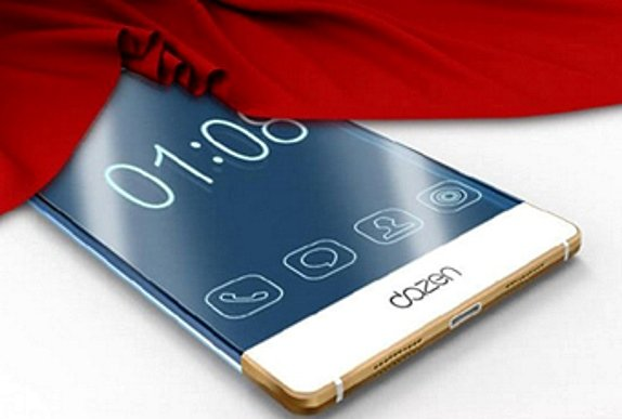 This Coolpad device will be a framless smartphone.