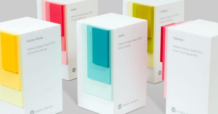 Google Material Design Awards 2016