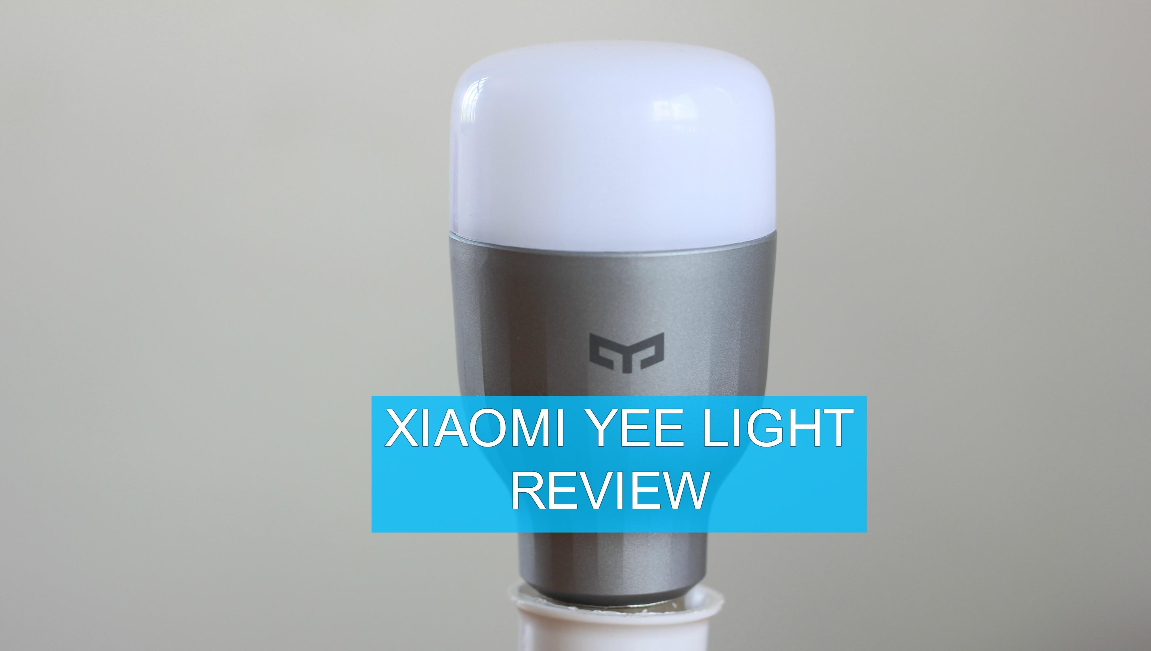 Xiaomi Yeelight Review Giveaway A Smart Led Bulb That Won 39 T 39 Break Your Bank Gadgetbyte Nepal