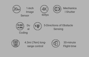Key features of DJI Phantom 4Pro
