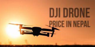dji drones price in nepal