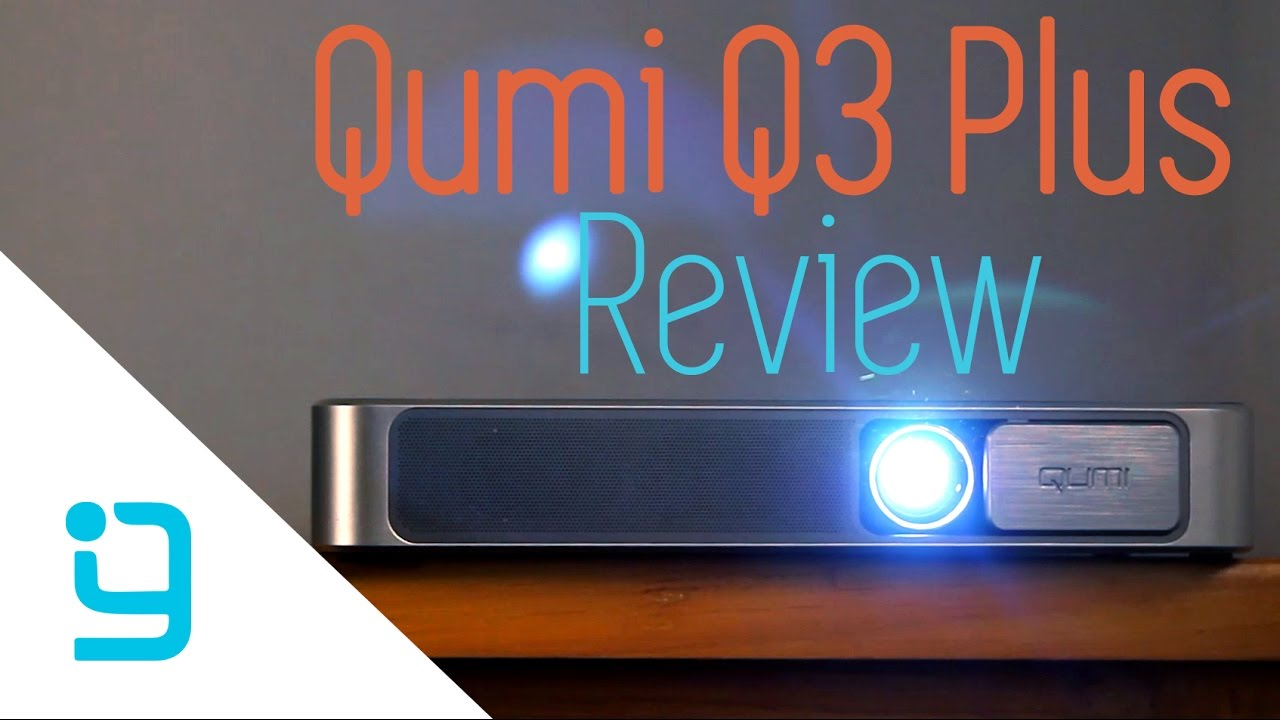 Qumi q3 plus review best portable projector you can buy for Best mobile projectors 2016