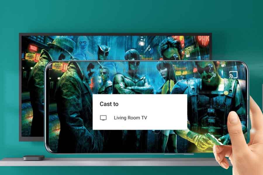 Mi Box 4K screen casting