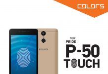 Colors Pride P-50 TOUCH