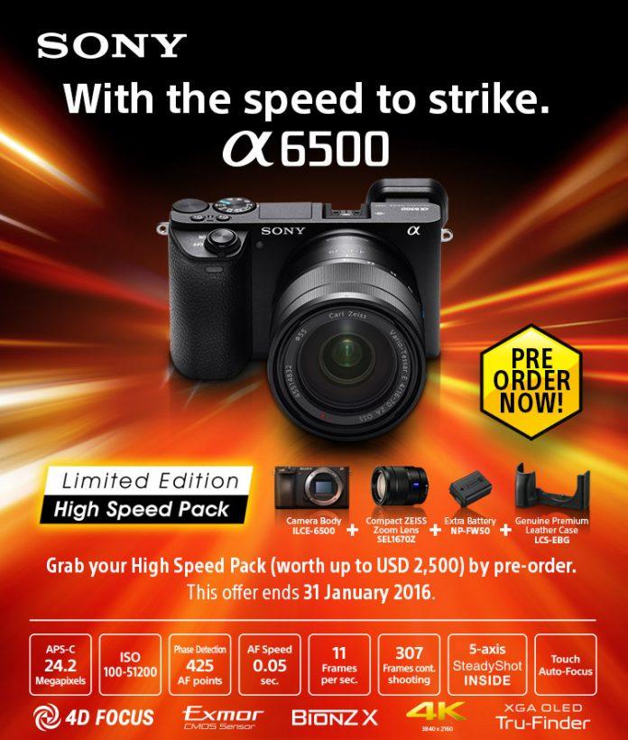Sony Mirrorless Champ A6500 Pre-order Nepal Price