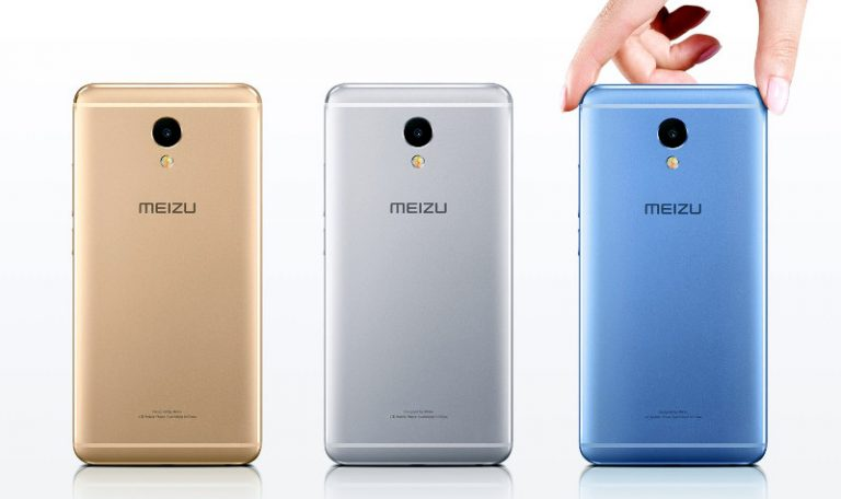 The Meizu M5 Note comes in Gray, Silver, Champagne Gold and Blue colors.