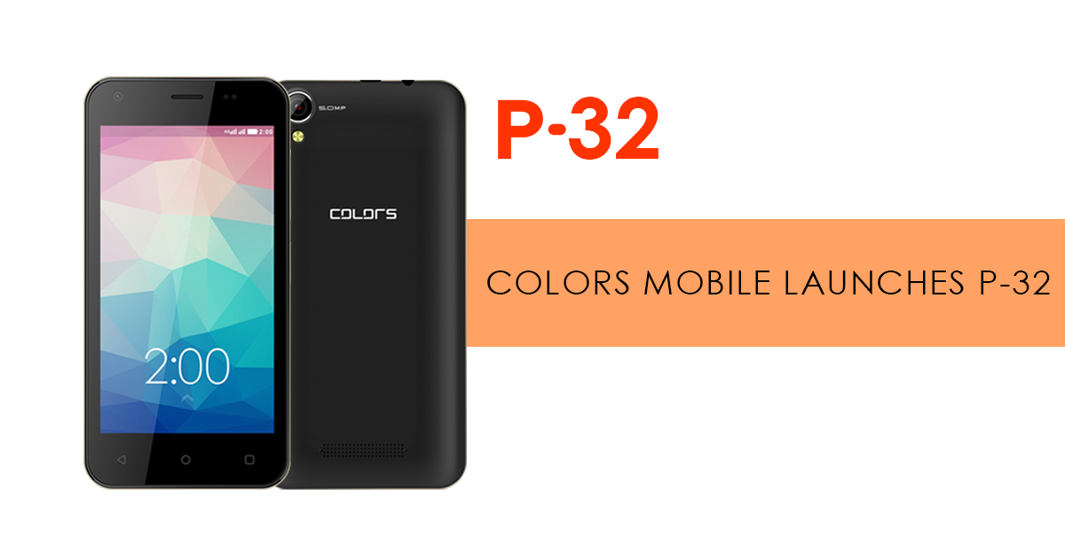 Colors Pride P32 Launched in Nepal (Budget Android Phone) - Gadgetbyte