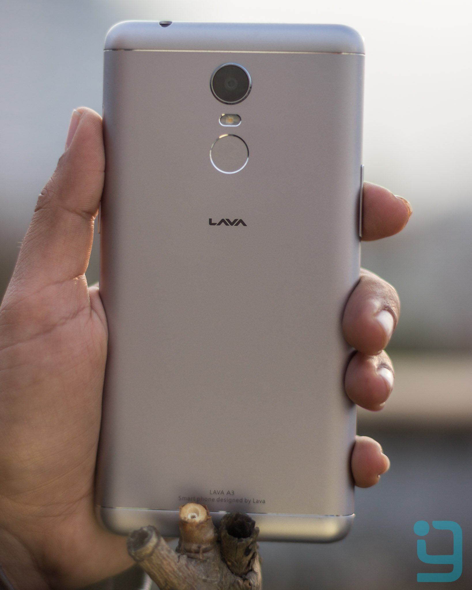 Lava A3 Back View