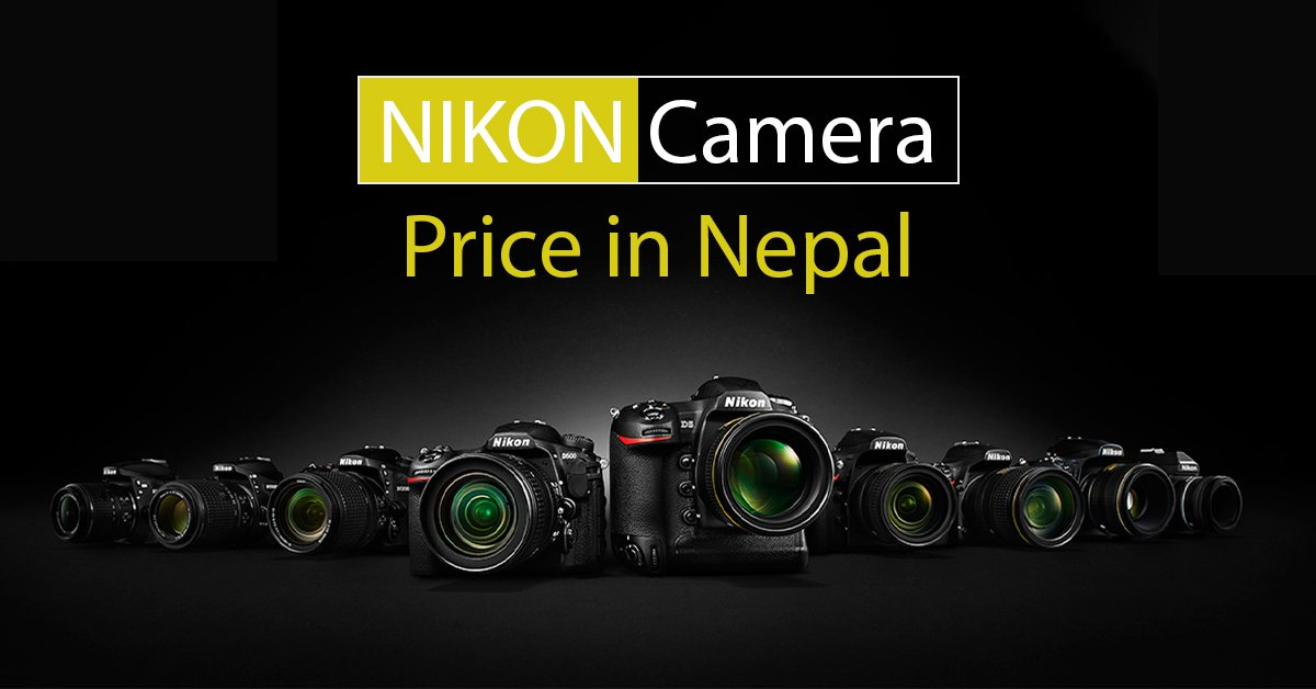 Nikon camera price in Nepal | Price & full specs of Nikon