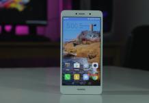 Huawei GR5 2017 FrontDesign