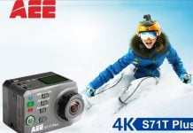 AEE S71T action camera in nepal go pro alternative