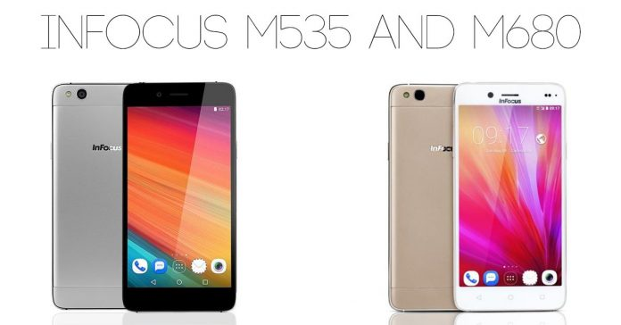 infocus m535 infocus m680 new phones 2017