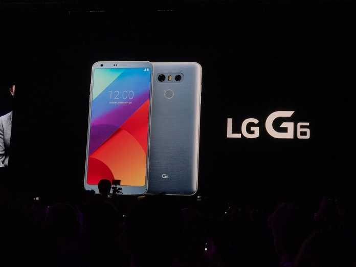 LG G6 Launches in MWC 2017