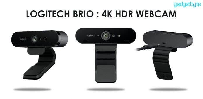 logitech brio 4K HDR Webcam