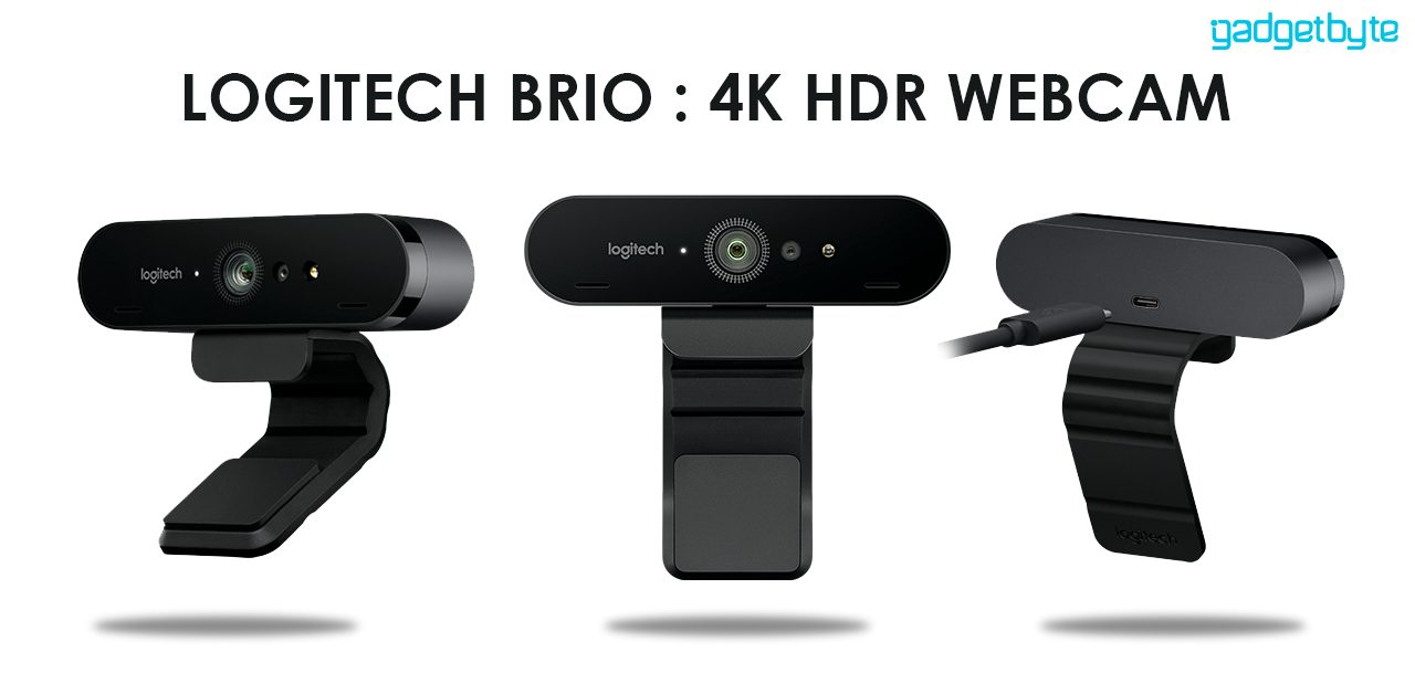 Logitech launched Brio, a 4K HDR webcam: the Tesla of Webcams