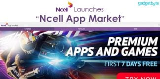 ncell app market launch