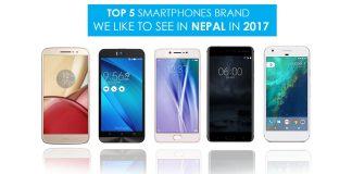 new smartphone brand in nepal 2017