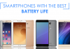 top phones with best battery life nepal