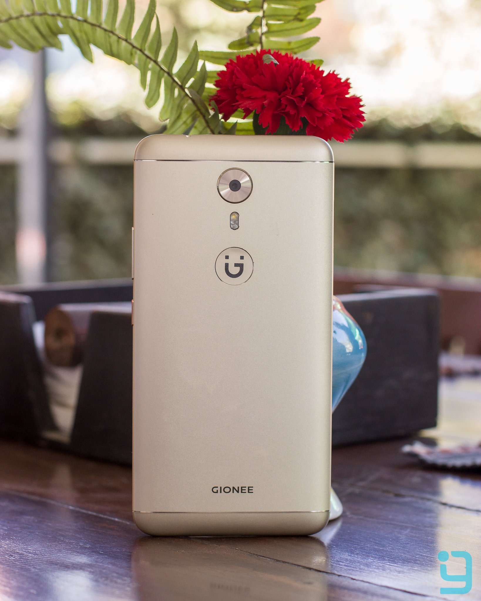 Gionee A1 back View with Gionee Branding