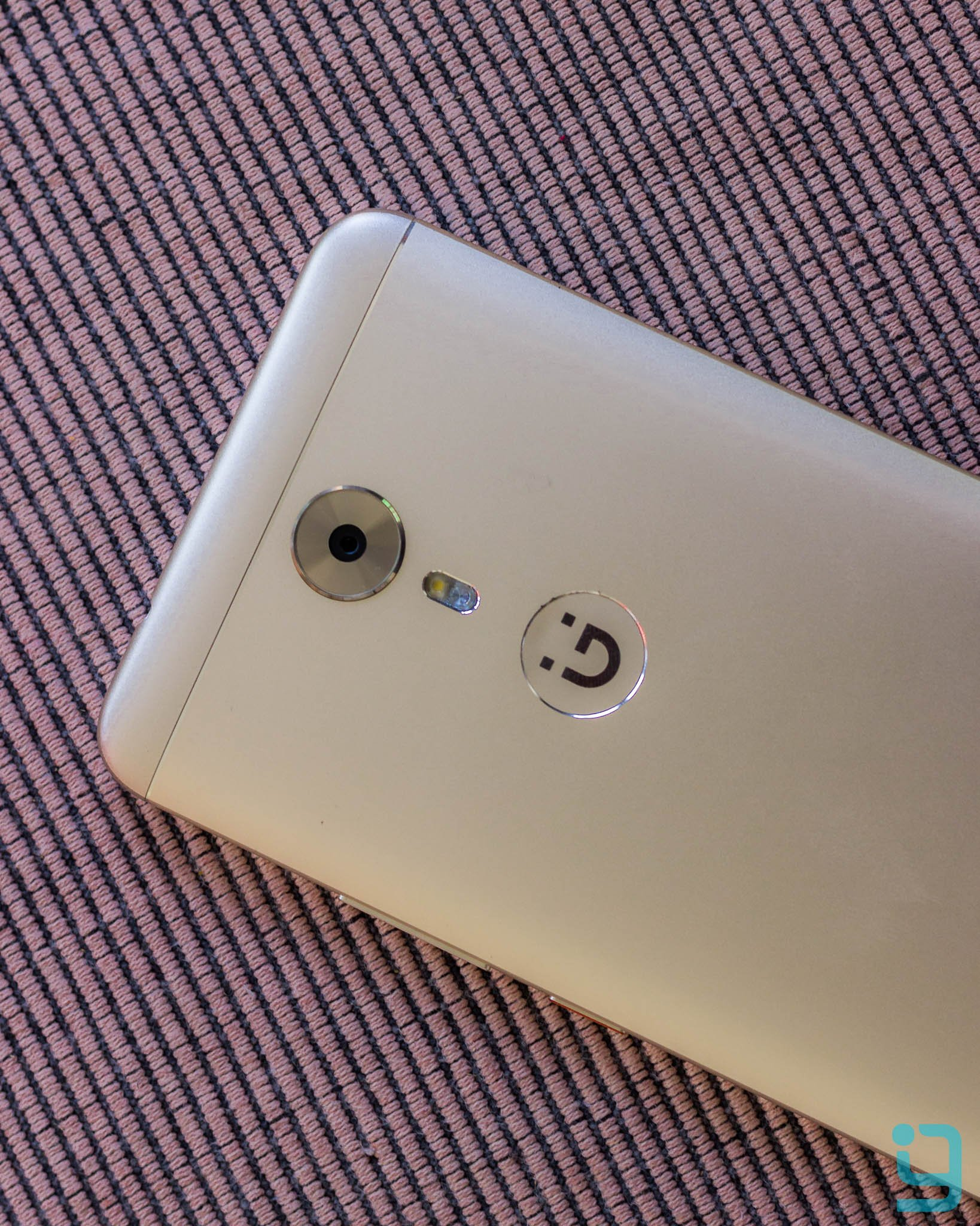Gionee A1 Back with Camera and Flash Close Up