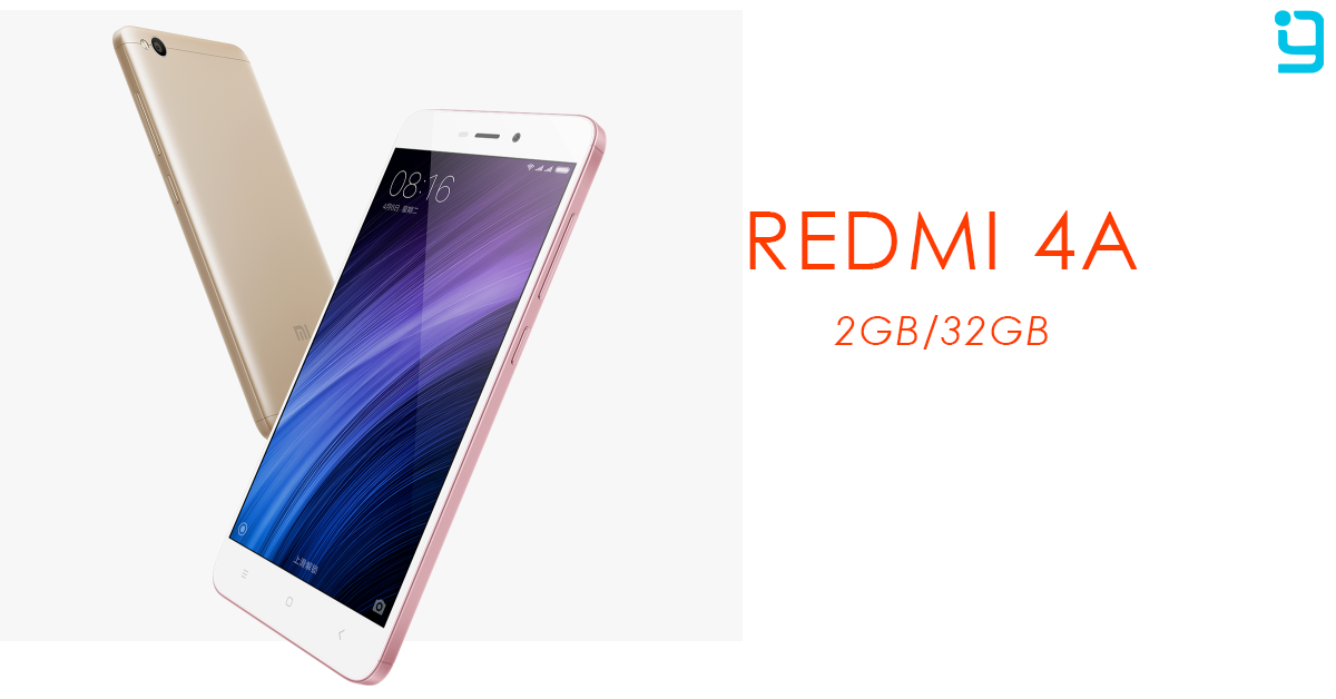 Xiaomi Redmi 4A with 32GB ROM Launched in Nepal – GadgetByte