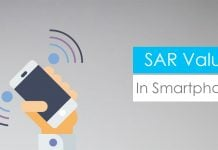 what is SAR value in smartphones
