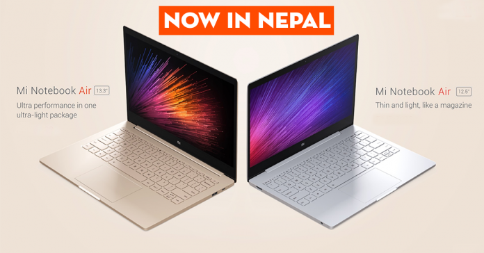 Mi Notebook air price nepal