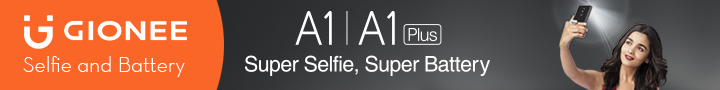 gionee A1 ad