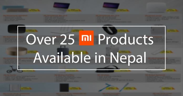 mi products price in nepal