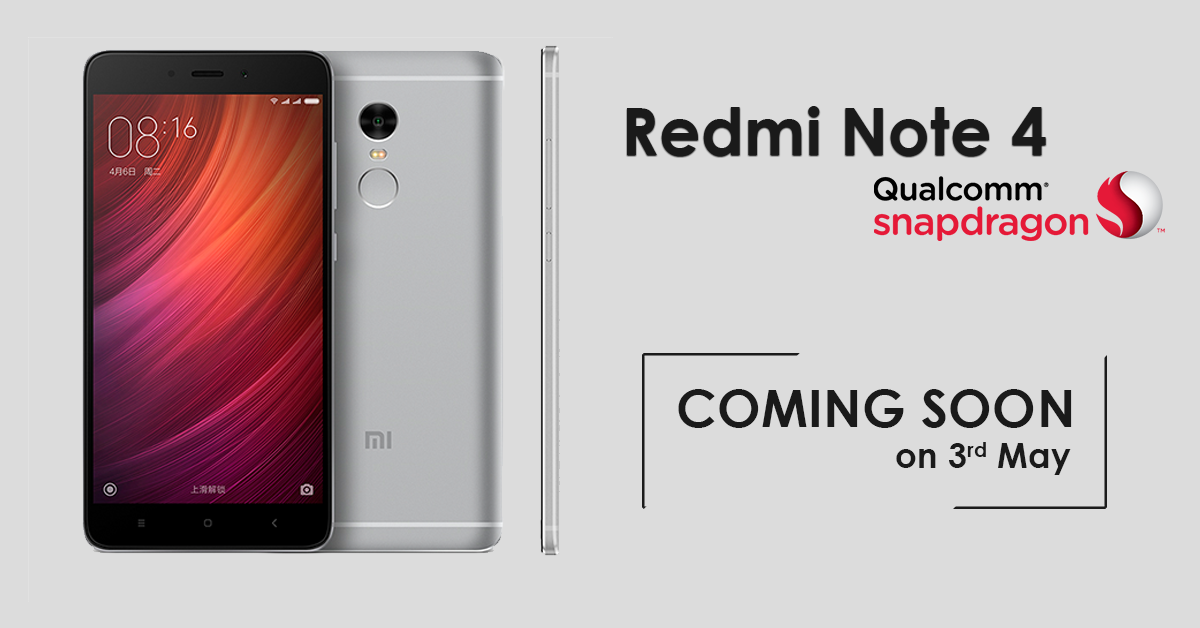 Xiaomi Set To Launch Redmi Note 4 And Redmi 4x In Mexico: Xiaomi Redmi Note 4 (Snapdragon Version) Set To Launch In