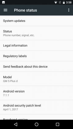 General Mobile GM 5 Plus