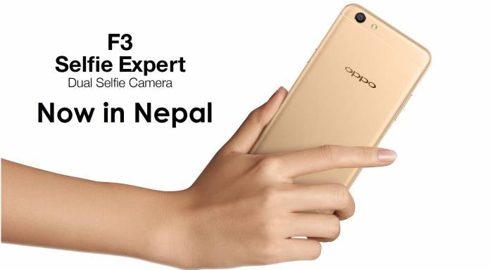 Oppo f3 price in nepal 2017