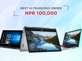 ultrabooks in nepal under 100000